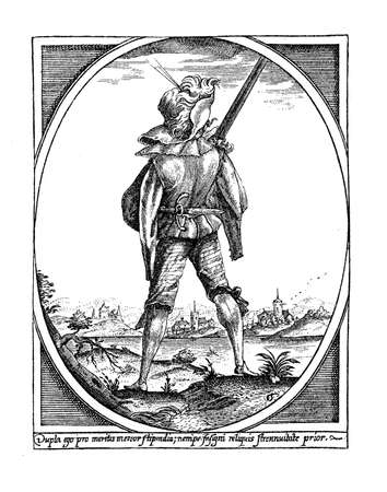 mercenary: Mercenary soldier at the end of XVII century