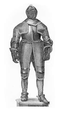Thyrty Years War, black armor of cavalry general Johann Graf von Spork