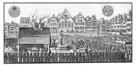 habsburg: Year 1658, crowning of Leopold I of Habsburg  Holy Roman Emperor in Frankfurt
