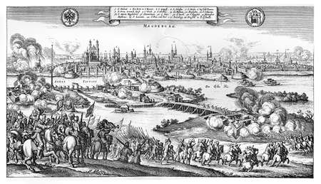 fortification: Year 1631 sack of Magdeburg after the siege by Catholic forces of Holy Roman Empire during the Thirty Years War.