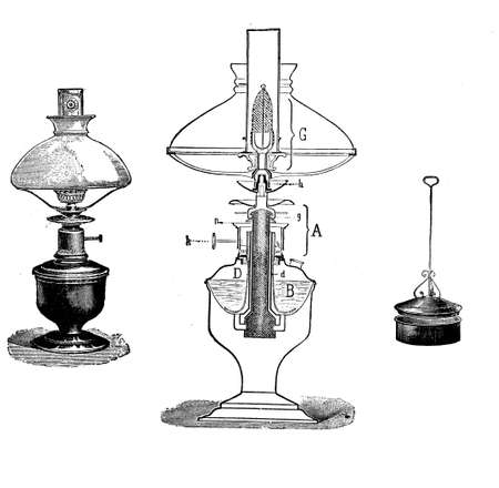 oillamp: Oil lamp design Stock Photo