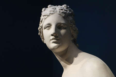 Copy of classical hellenistic Venus statue in marble