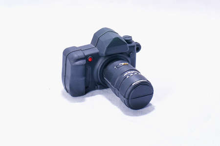model digital camera and a extender Stock Photo - 12966113