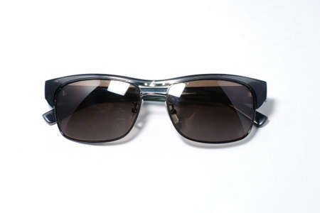 Sunglasses aviator style isolated on white photo