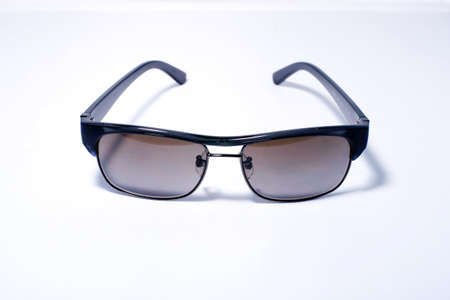 Sunglasses aviator style isolated photo