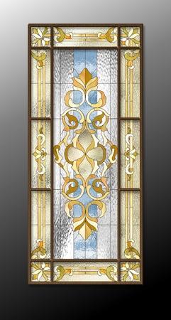 Vitrail dans le style baroque Banque d'images - 51331129