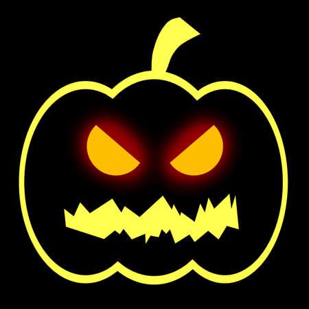 citrouille halloween: Halloween prise de t�te de citrouille