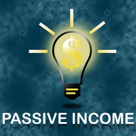 Passive income business concept. photo