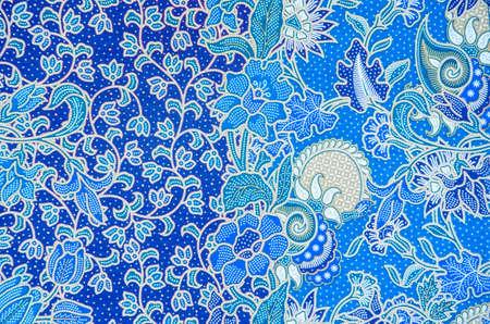 Motif pour les vêtements traditionnels comprennent batik
