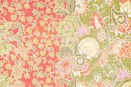 batik: Pattern for traditional clothes include batik