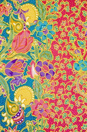 batik pattern, traditional thai style photo