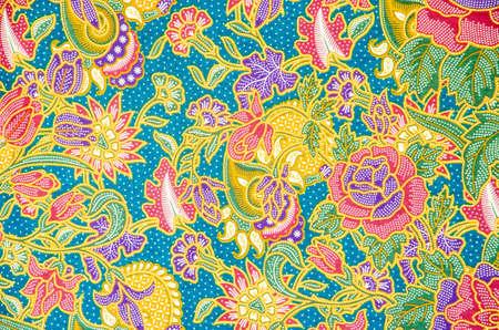 Batik Hintergrund Standard-Bild