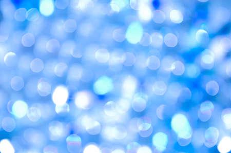blue circles: abstract background blue bokeh circles Stock Photo