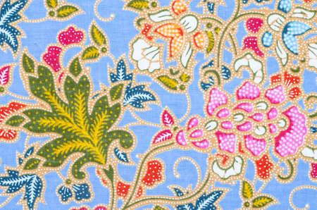 batik: Beautiful batik patterns that become traditional clothes Thailand.