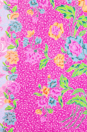 sarong: batik sarong pattern background in Thailand, traditional batik sarong in Asian