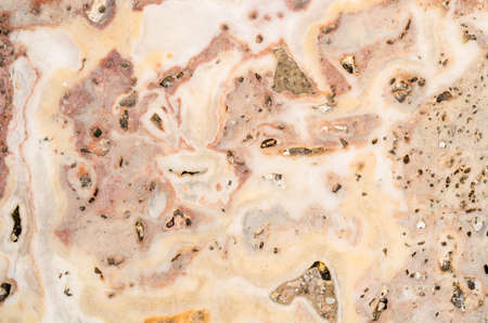 aggregates: The cut marble rock. The texture of the stone Stock Photo