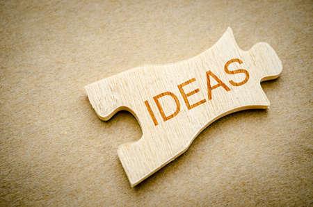 comité d entreprise: Idées de mots sur puzzle fond, concept d'entreprise