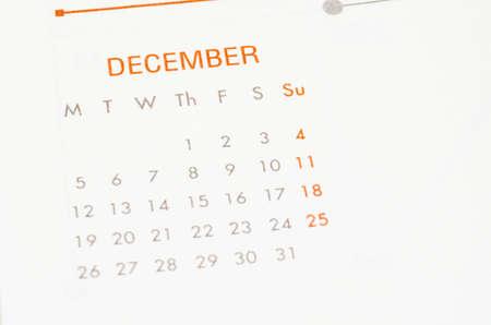 december: Cierre de la p�gina de calendario diciembre.