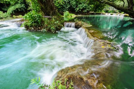 Chet-Sao-Noi waterfall in Khao Yai National Park, Saraburi province, Thailand.