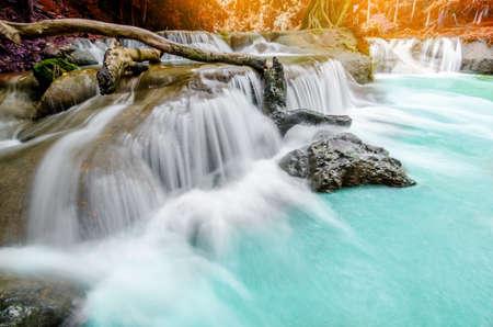 Chet Sao Noi Waterfall, Saraburi, Thailand