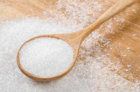 Monosodium glutamate (MSG), a flavor enhancer in many asian food