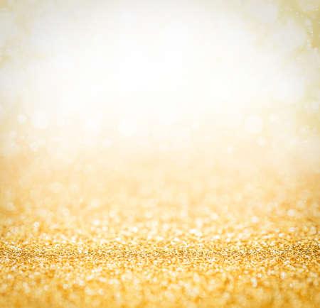 Resumen la luz de oro para el fondo de vacaciones