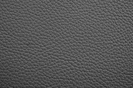 Black leather texture as background. Standard-Bild