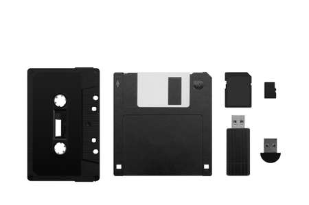 The evolution of memory devices  photo