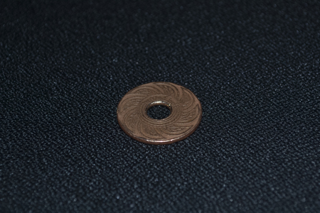 Ancient Thai Coins, Siam Coins Back  photo