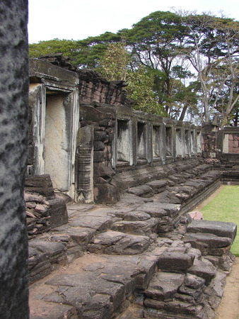 Thai country Phimai historical park  photo