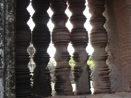 Thai country Phimai historical park  photo