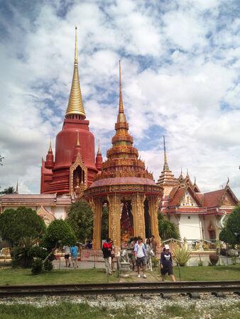 pattani thailand: Watchanghai Hito de Pattani, Tailandia, El lugar es importante