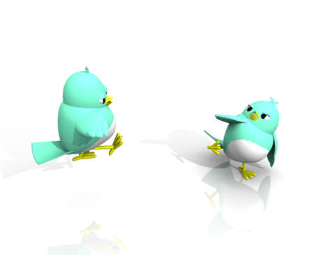 friction: 3D  BIRDS KUNG FU FIGHT
