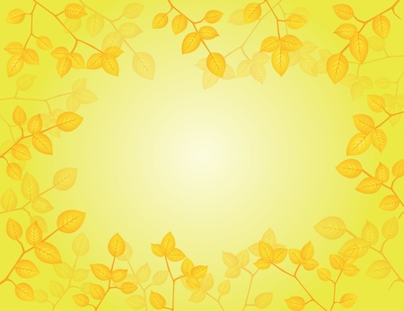 Vector Illustration of Nature Background Illustration