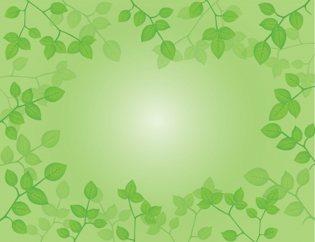 Vector Illustration of Nature Background Illustration