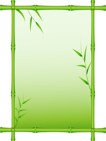 Vector Illustration Of bamboo forest background Vector