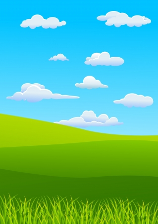 vector illustration of Nature Landscape
