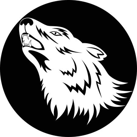 Wolf Tattoo Illustration