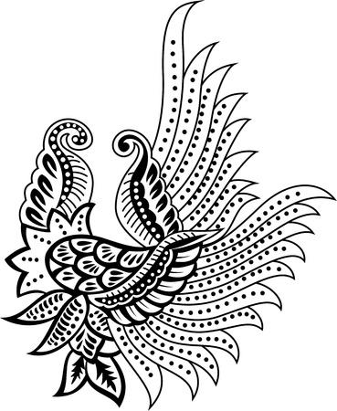 floral design element Illustration