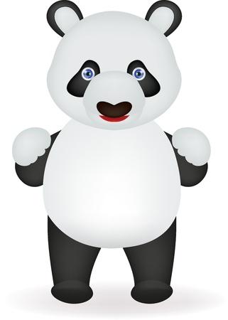 childishness: funny panda