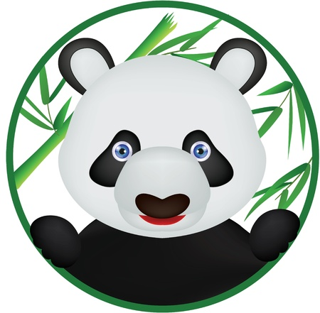 funny panda Stock Vector - 16475587