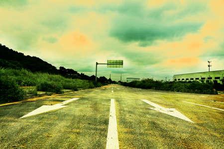 asphalt road Stok Fotoğraf