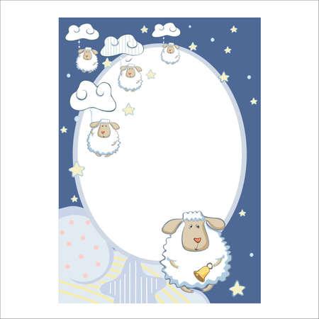 Illustration photo frames Stock Vector - 15241579
