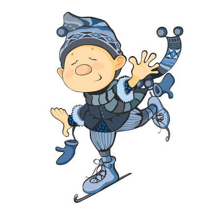 Illustration dwarf skate