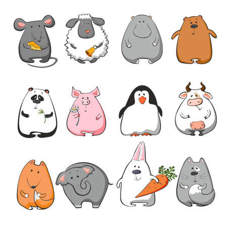illustration animals Vector