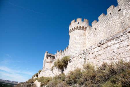 Penafiel Castle, Valladolid Province, Spain Editorial
