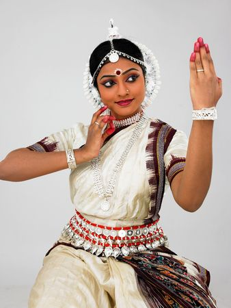 indian beauty: indian classical female dancer