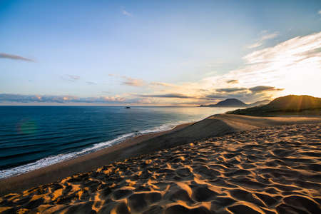Early morning at Tottori sand dunes