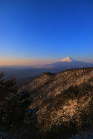 Mt.Fuji early morning from Mitsutouge Pass