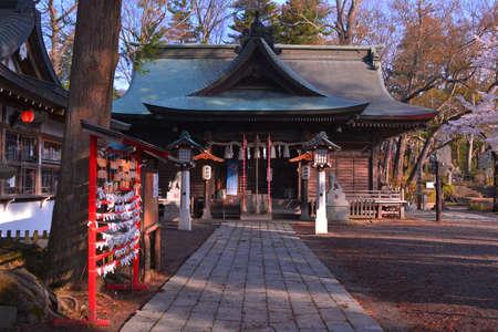 sengen: Omuro Sengen Shirine in Fujiyoshida City